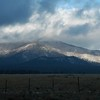 Just north of Flagstaff, Ariz., where it was snowing.