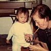 1973 Anne-gi with 4th Great Aunt