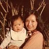 1974 Alan and DIana at Ching Leung Monastery