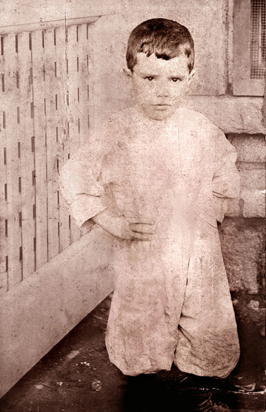 Henry Grady as a young boy