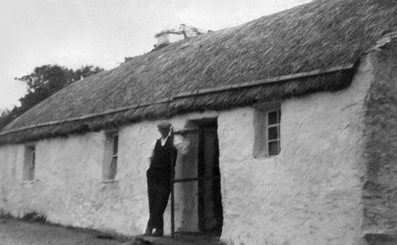 Uncle Edward Hallinan, Nana's younger brother, family home, Louisburgh (Kilgeever) County Mayo Ireland