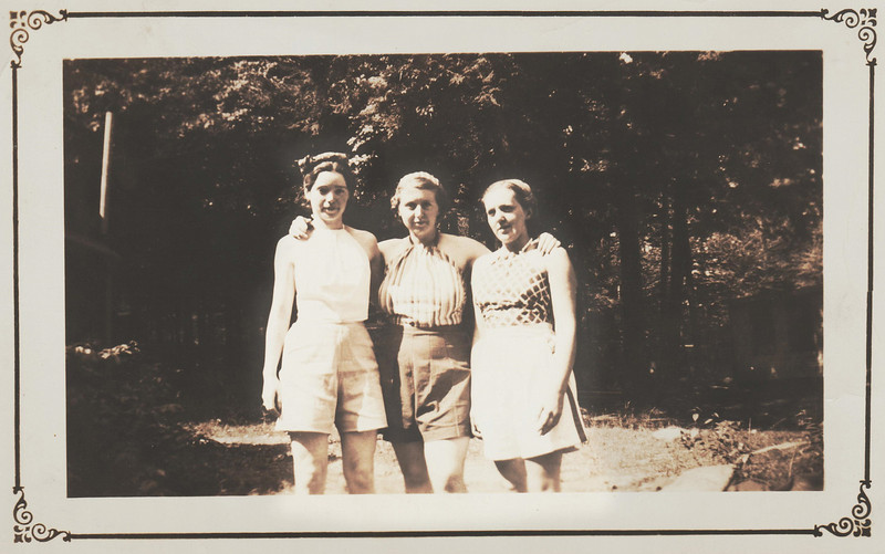 Julia, Doris, & Marion, Northwood Lake NH