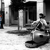 Cellist and listener in Paris