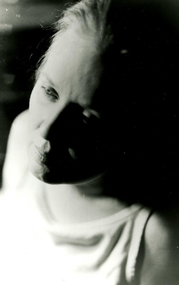 Portrait with dramatic lighting