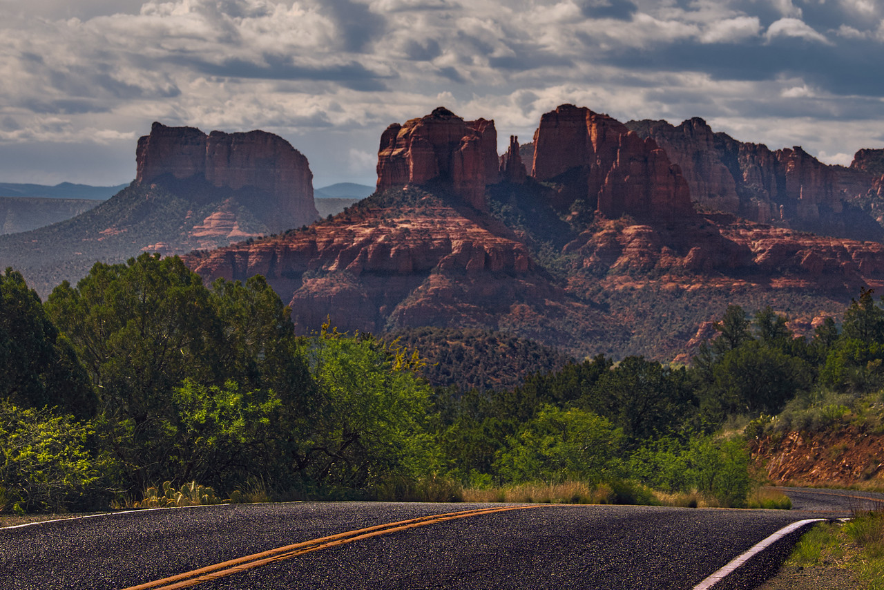 Sedona, AZ - Upper Red Road Loop