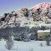 Lonely house in a frozen landscape - Breivikeidet