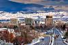 Boise, Idaho in winter