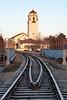 Railroad Tracks Boise Train Depot