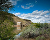 Boise Idaho's diversion Dam with power station