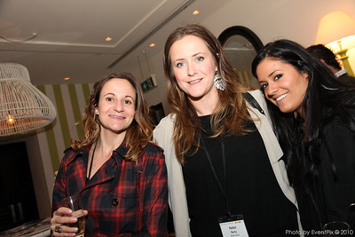 Marnie Graham (Aria Catering), Rebel Barty and Tali Mizrahi (Team Event)