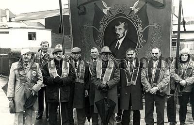 Newry INF John Mitchel Branch Parade 1989