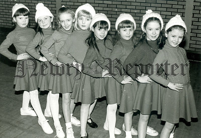 """Junior Members of the cast of """"Babes in the Wood"""" pantomime presented by Charlie Smyth in Newry Town Hall last week."""