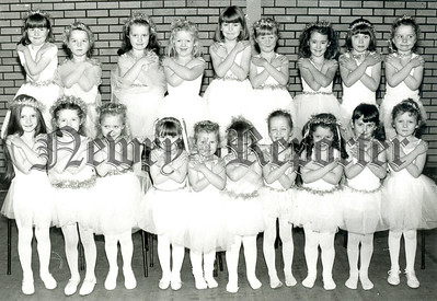 """The young Fairies who will take part in the """"Babes in the Wood"""" Pantomime opening in newry Town Hall on Monday Night. R8903107"""