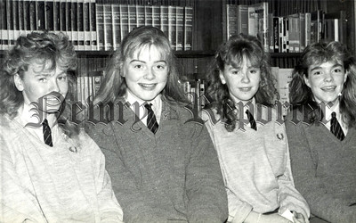 January 1989 - St Mark's Open Night the Library offers a wide scope for study. R8905113