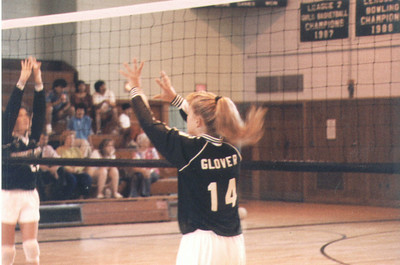 Old volleyball