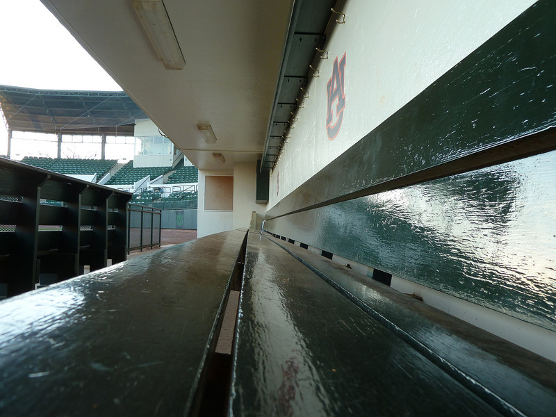 Auburn University, home dugout at Hitchcock Field at Plainsman Park