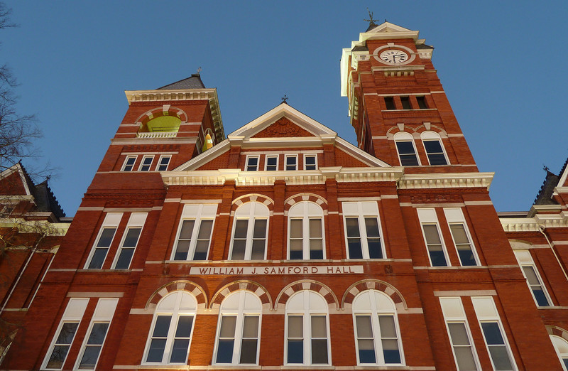 Auburn University, Samford Hall at dawn