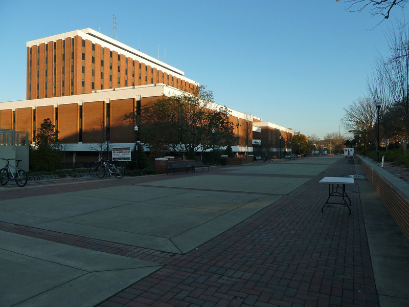 Auburn University, Haley Center and concourse