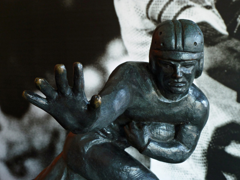 the Heisman Memorial Trophy Award at Boston College