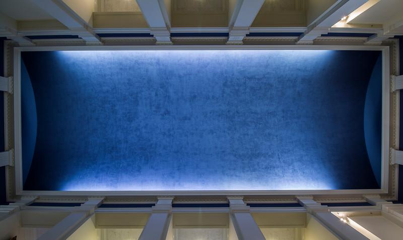 ceiling of display room