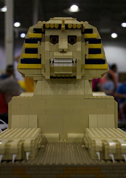 BrickFair VA 2014, sphinx