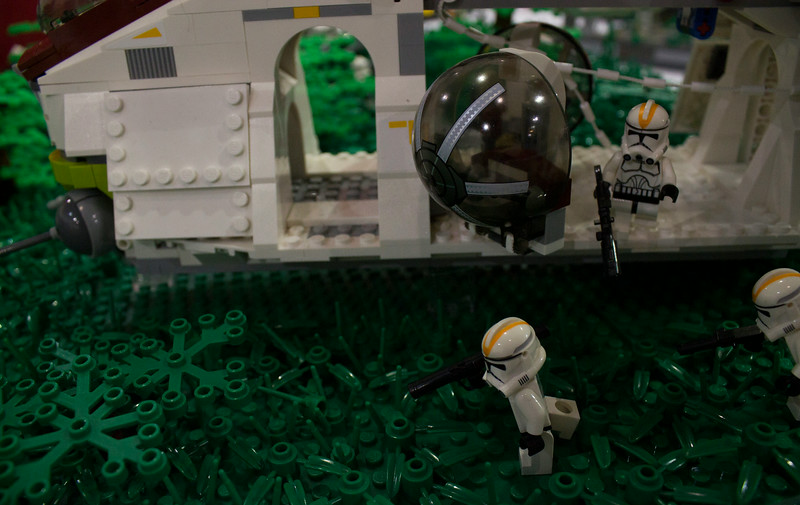 BrickFair VA 2014, science fiction battle
