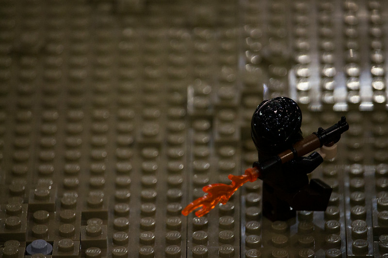 BrickFair VA 2014, insurgent with rocket launcher