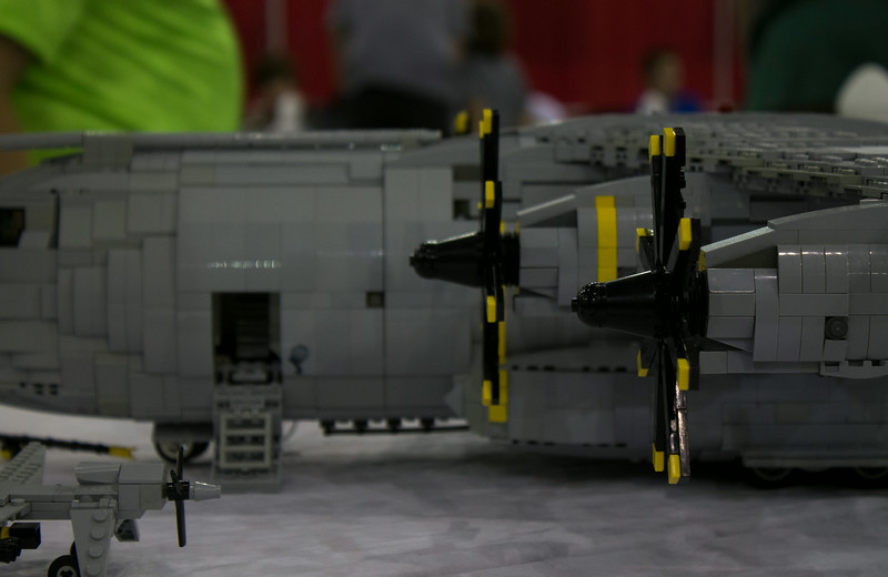 BrickFair VA 2014, large airplane