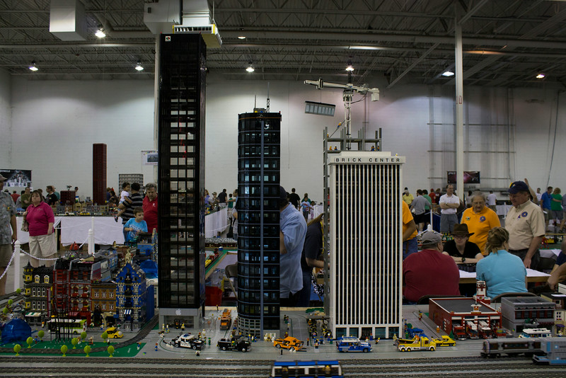 BrickFair VA 2014, skyscrapers