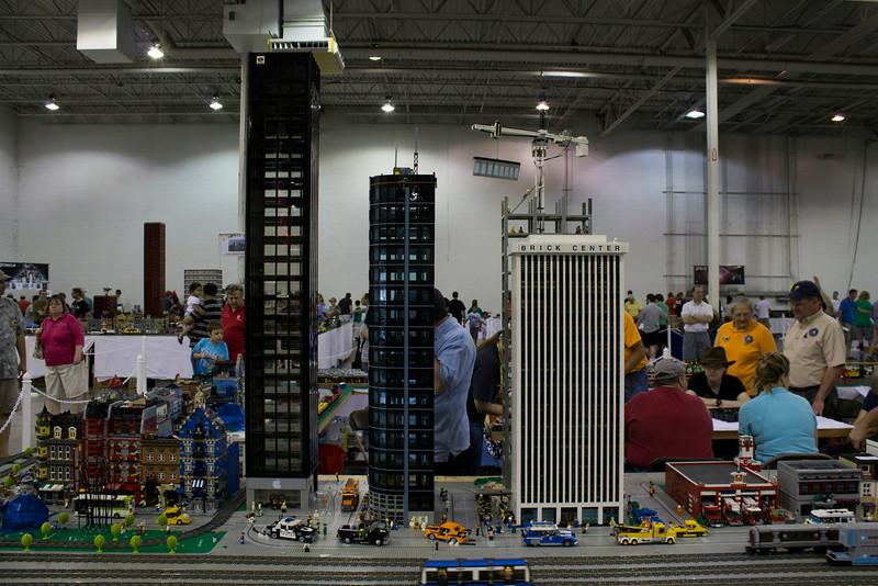 BrickFair VA 2014, skyscrapers