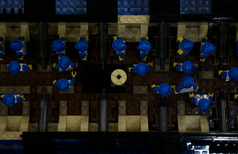 BrickFair VA 2014, sailors on ship
