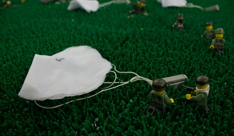 BrickFair VA 2014, paratroopers