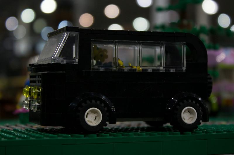 BrickFair VA 2014, van
