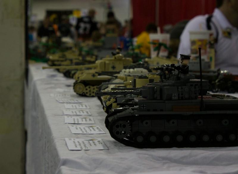 BrickFair VA 2014, tanks