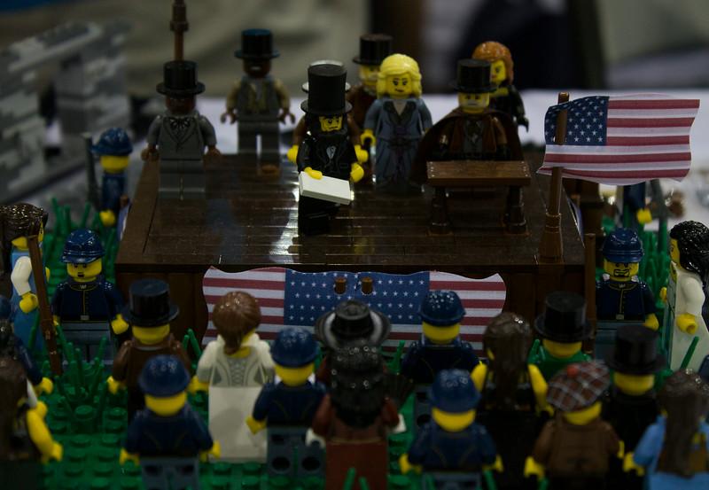 BrickFair VA 2014, Gettysburg Address