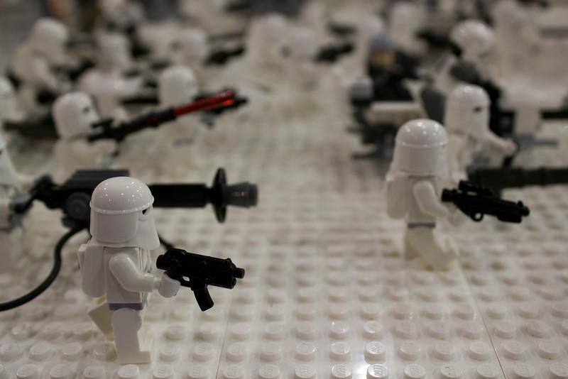 BrickFair VA 2014, science fiction battle