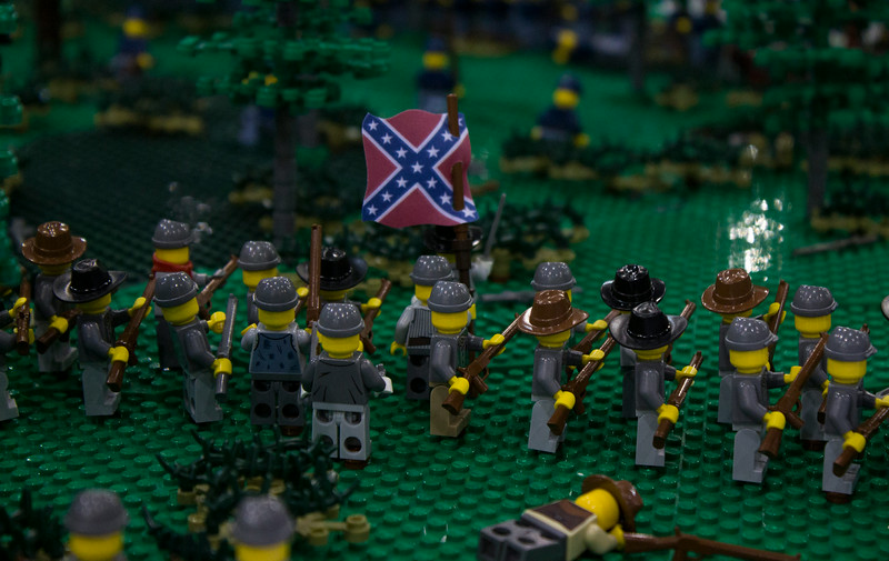 BrickFair VA 2014, battle in War Between the States