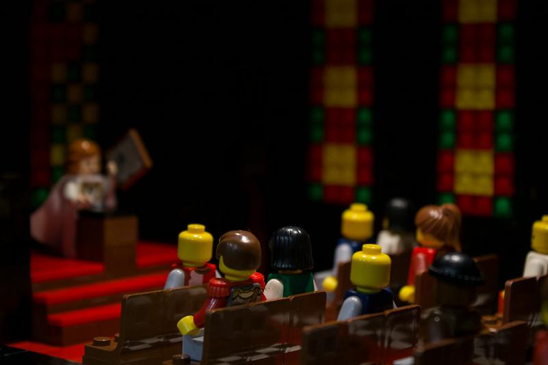 BrickFair VA 2014, religious service