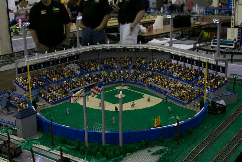 BrickFair VA 2014, New York Yankees training stadium