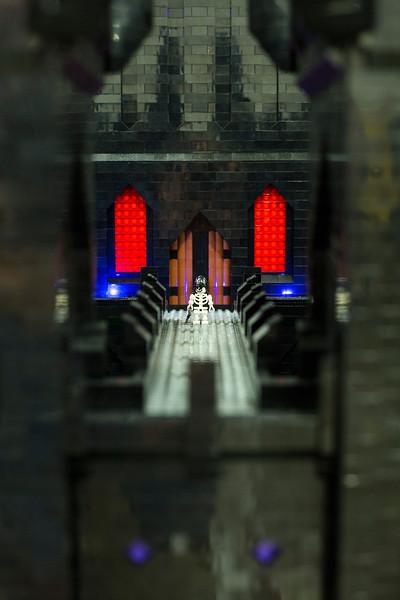 walkway of castle