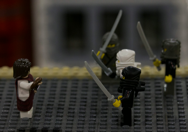 BrickFair VA 2014, Jesus fighting ninjas