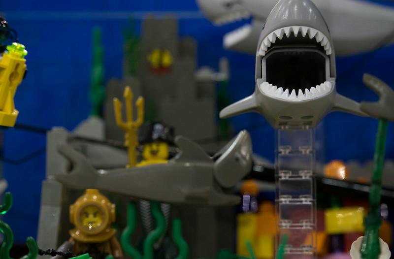 BrickFair VA 2014, underwater scene