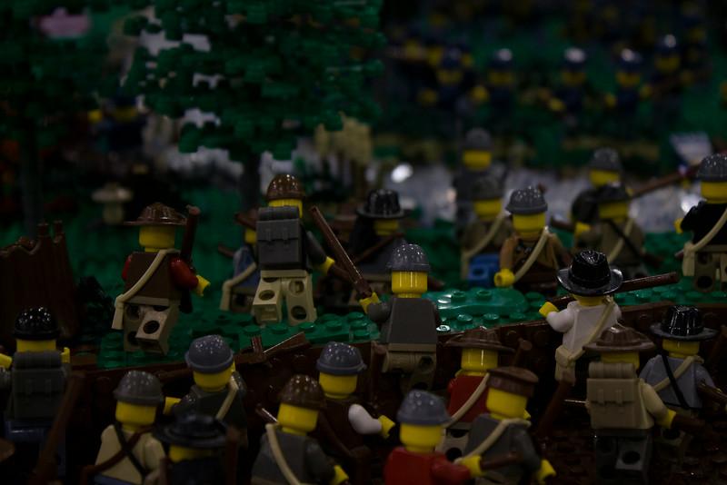 BrickFair VA 2014, battle in War Between the States