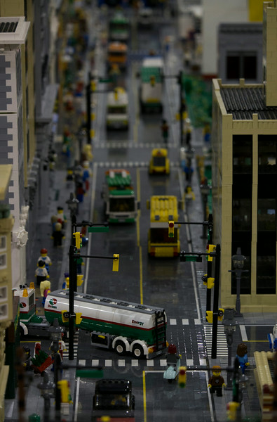 BrickFair VA 2014, city street