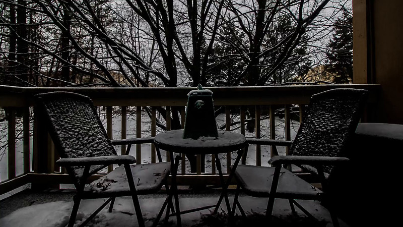 snow in northern Virginia, 03/05/15