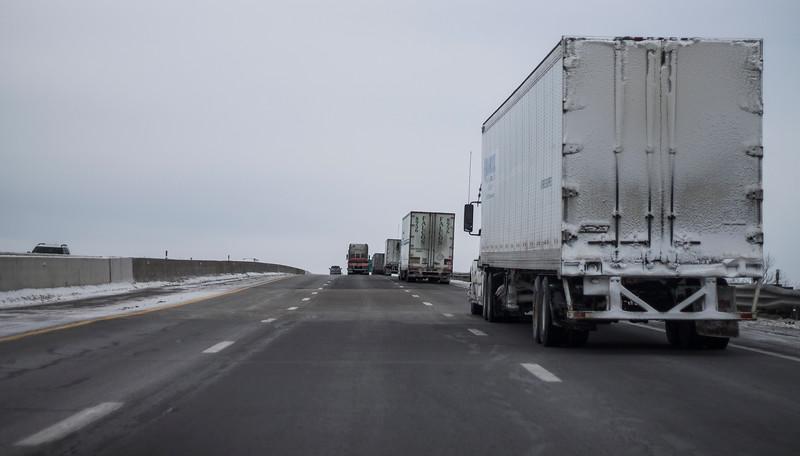 interstate in Ohio or Michigan