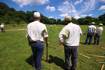 Old Bethpage Village Base Ball Festival 2013