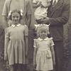Anne, Pauline and Frances with mum and dad - circa 1948