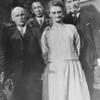 Anne's  paternal granddad, dad, paternal grandmother and uncle - circa 1935