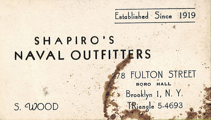 Naval outfitters